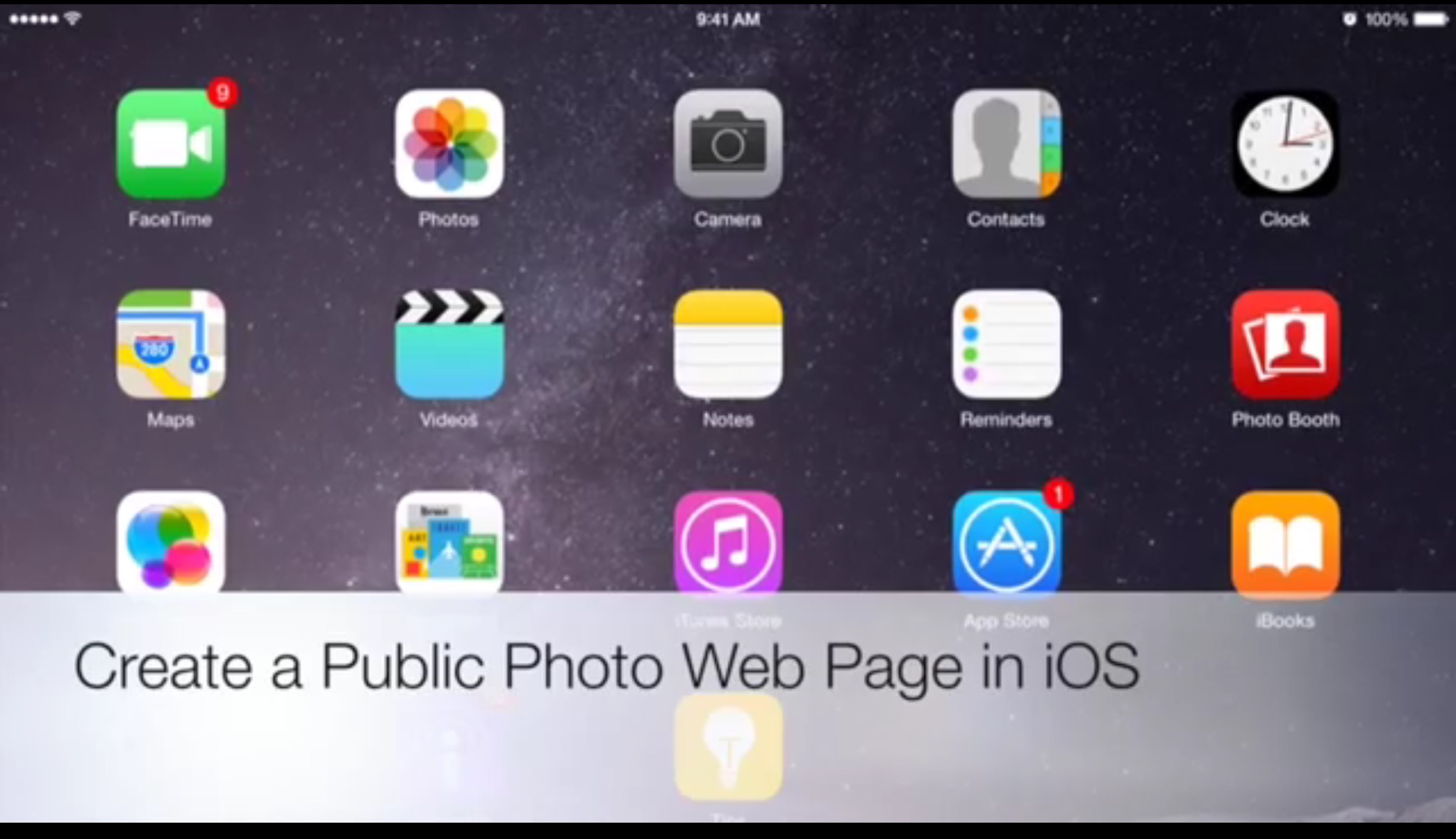 Photo Web Page iOS EdTechChris