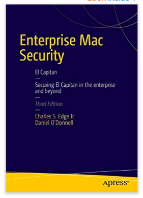 Enterprise Mac Security OS X ElCapitan Apple EdTech EdTechChris.com ISTE EdTechChris Chris Miller
